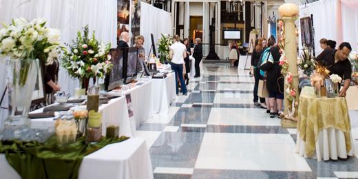 The Atrium at Montgomery Park wedding Portland