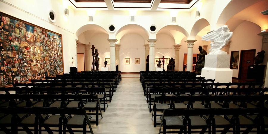 Museum of Biblical Art wedding Dallas