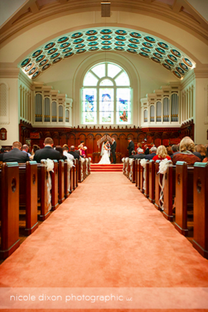 Broad Street Presbyterian Church wedding Columbus