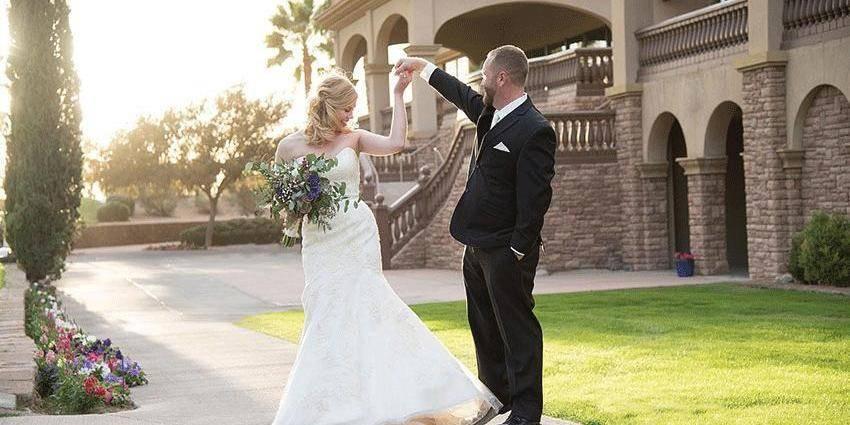 Seville Golf & Country Club wedding Phoenix/Scottsdale
