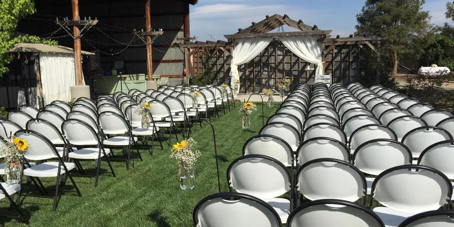Hummingbird Hollow Events wedding Central Valley