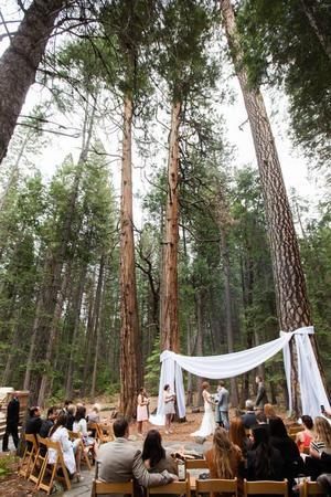 Evergreen Lodge wedding Yosemite
