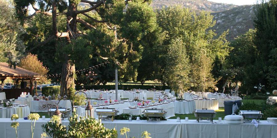 Bates Nut Farm wedding San Diego