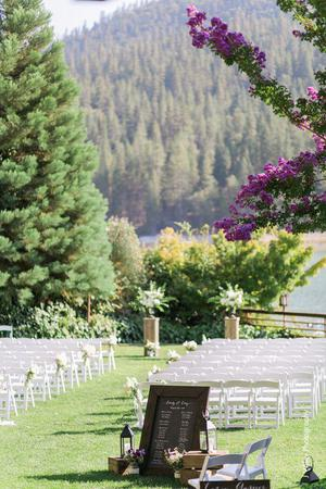 The Pines Resort wedding Central Valley
