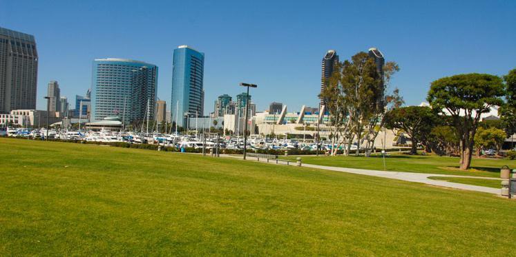 Embarcadero Marina Park wedding San Diego