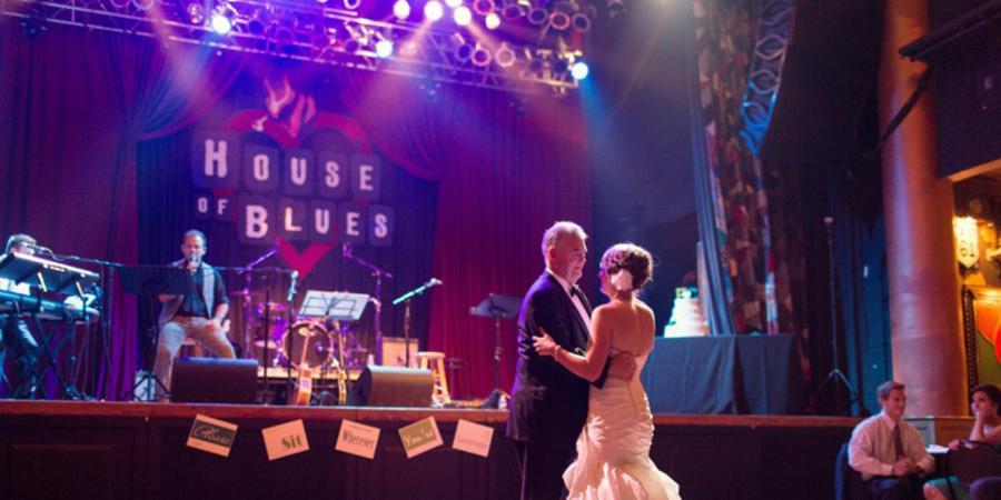 House of Blues San Diego wedding San Diego