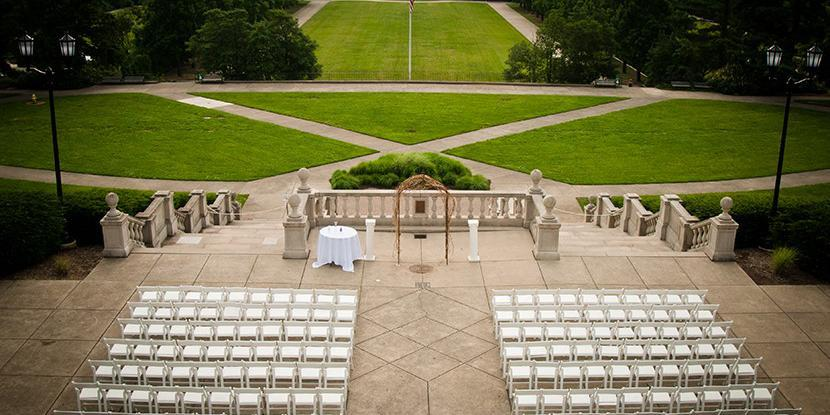 Ault Park Pavilion wedding Cincinnati