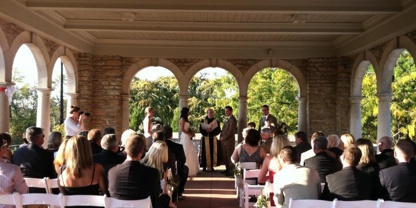 Alms Park Pavilion wedding Cincinnati