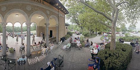 Mt. Echo Park Pavilion wedding Cincinnati