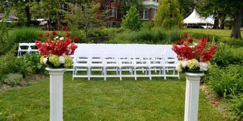 The Gibson House wedding Cincinnati