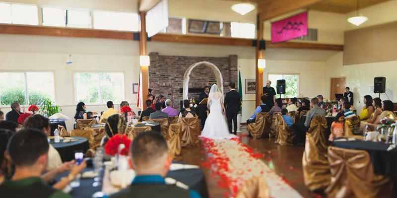 Des Moines Activity Center wedding Seattle