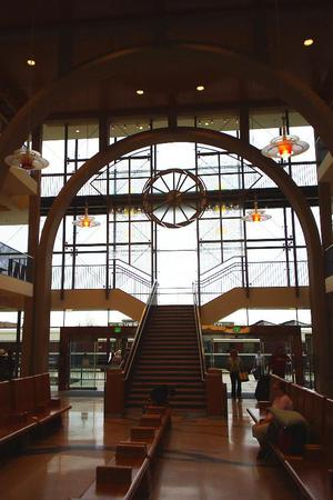 Everett Train Station: Weyerhaeuser Room wedding Everett