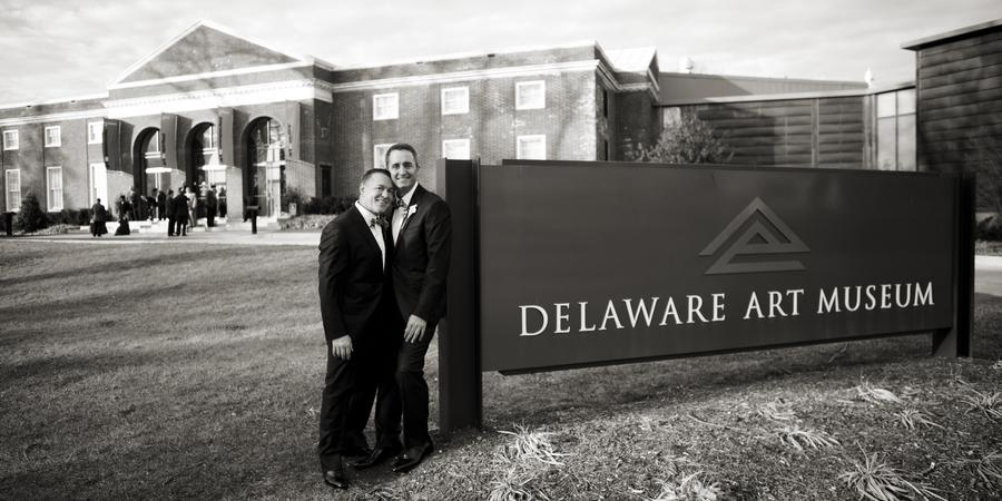 Delaware Art Museum wedding Delaware
