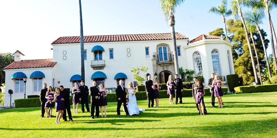 Muckenthaler Mansion wedding Orange County