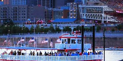 BB Riverboats River Queen wedding Lexington