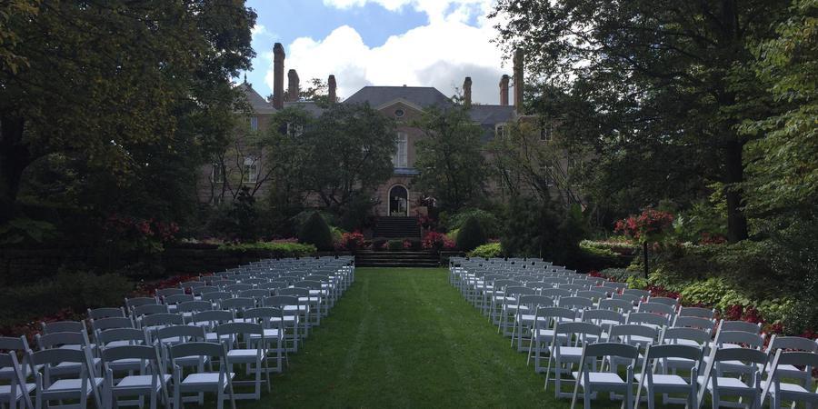 Kingwood Center Gardens wedding Columbus