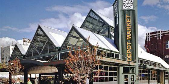 Depot Market Square wedding Everett