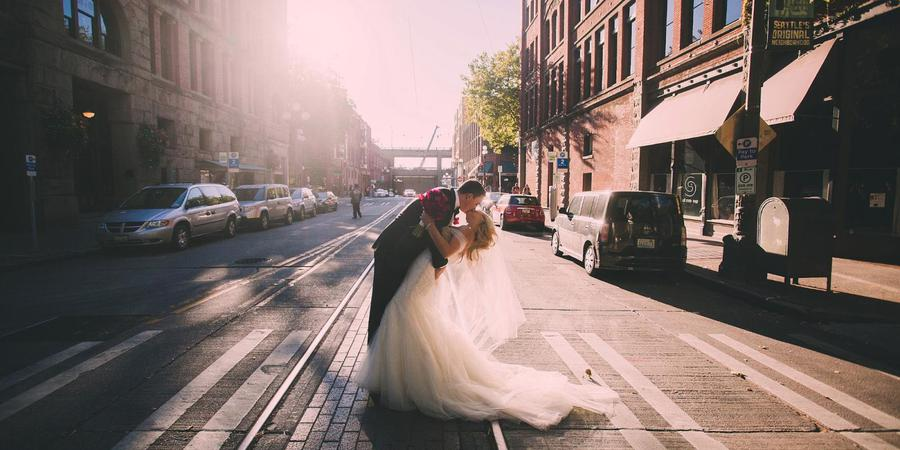 Axis Pioneer Square wedding Seattle