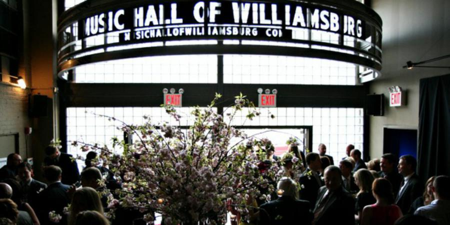 Music Hall of Williamsburg wedding Brooklyn