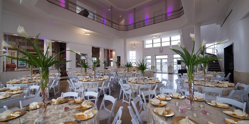 1940 Air Terminal Museum wedding Houston