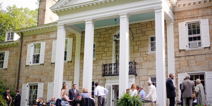 Lantern's Court at Holden Arboretum wedding Cleveland