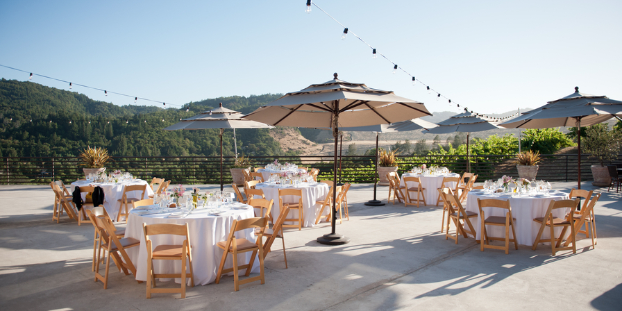 Sbragia Family Vineyards, a Milestone property wedding Napa/Sonoma