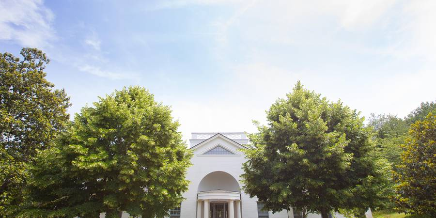 Jefferson Library wedding Charlottesville