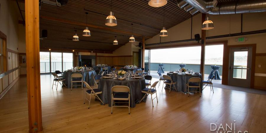 Mount Baker Rowing and Sailing Center wedding Seattle