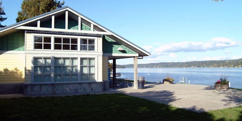 Pritchard Beach Bathhouse wedding Seattle