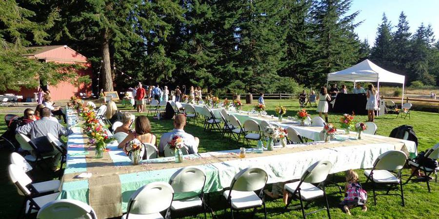 Four Springs House wedding Everett
