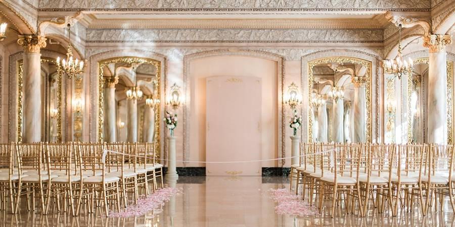 The Historic Davenport Hotel wedding Spokane