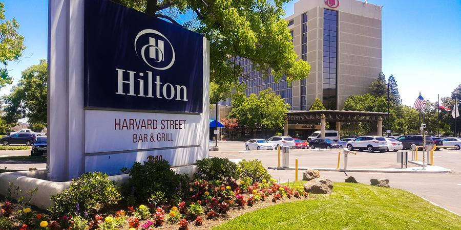 Hilton Sacramento Arden West wedding Sacramento