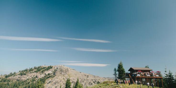 Sugar Bowl Resort wedding Tahoe