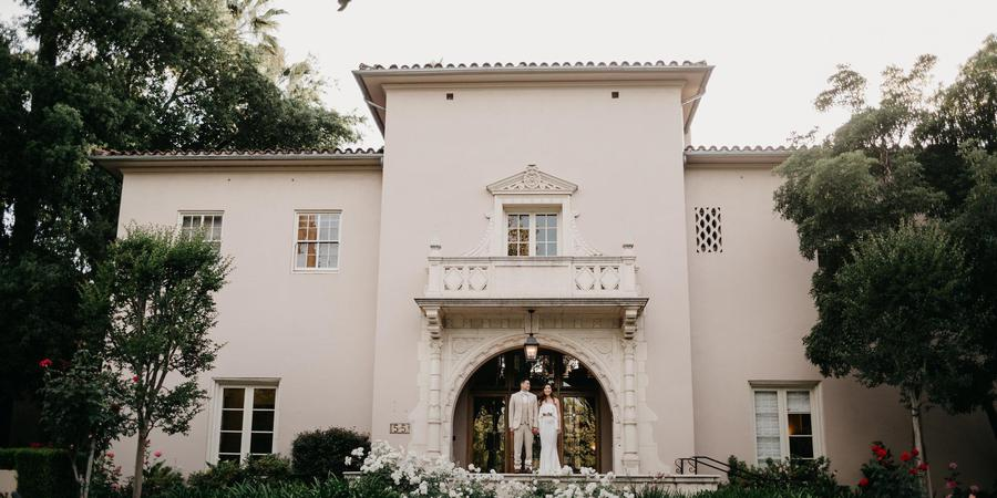 The Maxwell House wedding Los Angeles