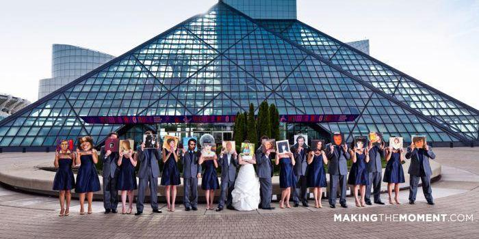 Rock and Roll Hall of Fame wedding Cleveland
