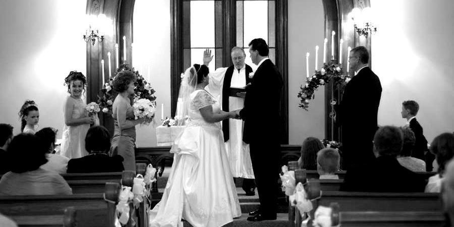 Glendale New Church wedding Cincinnati