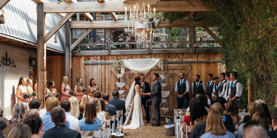 Barbwire and Lace wedding Salt Lake City