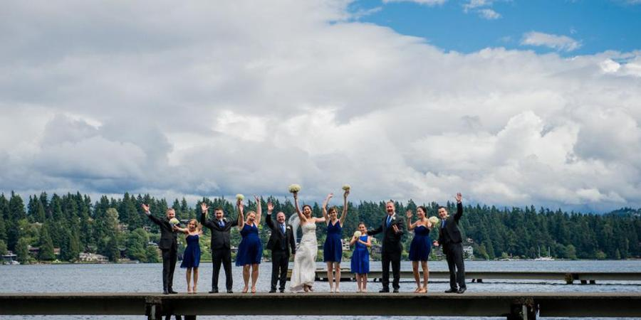 Mercer Island Community & Event Center wedding Seattle