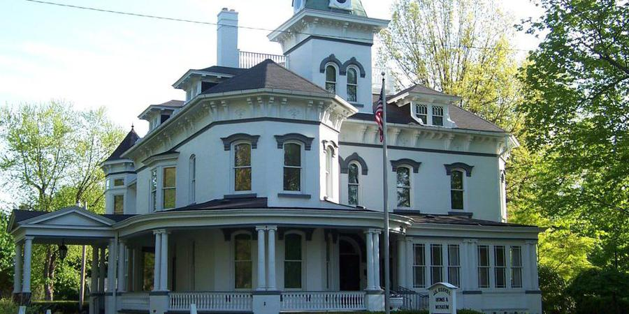 J.E. Reeves Victorian Home and Museum wedding Cleveland