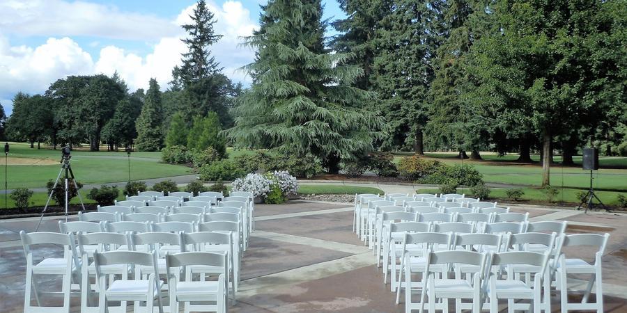 Royal Oaks Country Club wedding Yakima