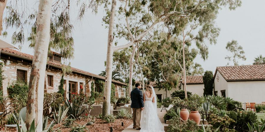 Estancia La Jolla Hotel & Spa wedding San Diego
