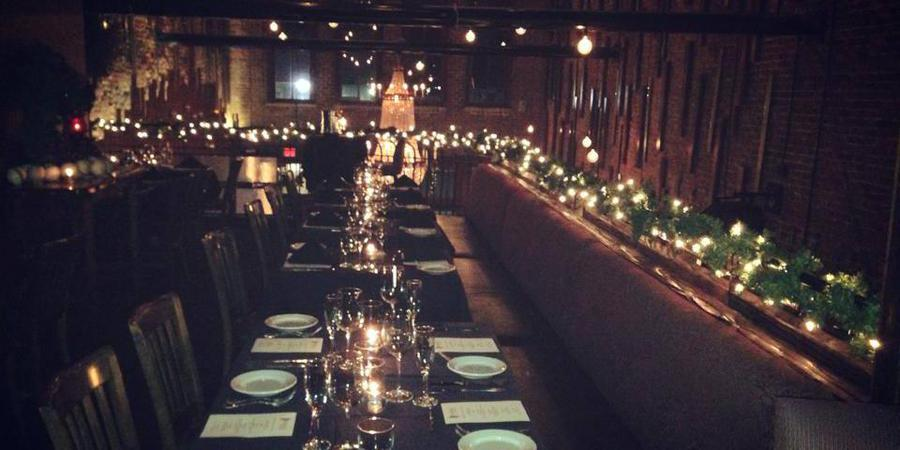 Hearsay Gastro Lounge wedding Houston
