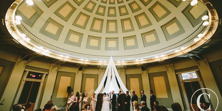 Old Court House wedding Dayton