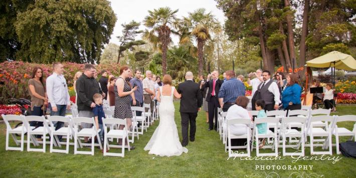 Point Defiance Rose Garden wedding Tacoma