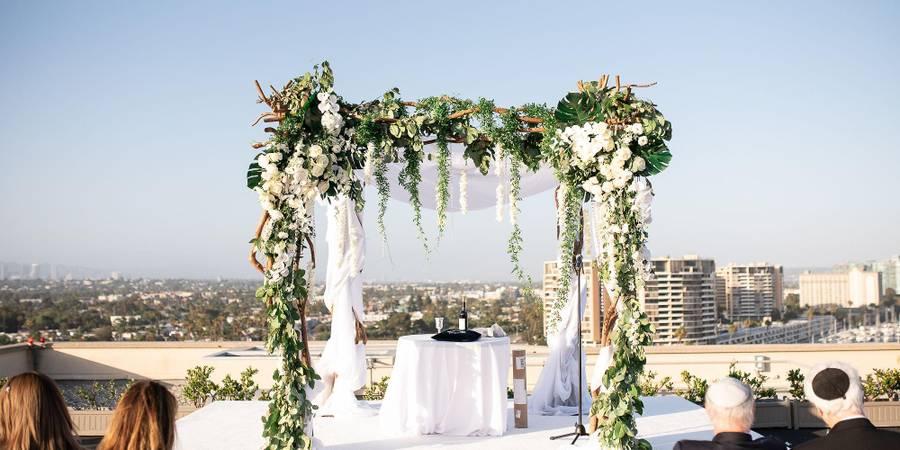 Marina del Rey Marriott wedding Los Angeles