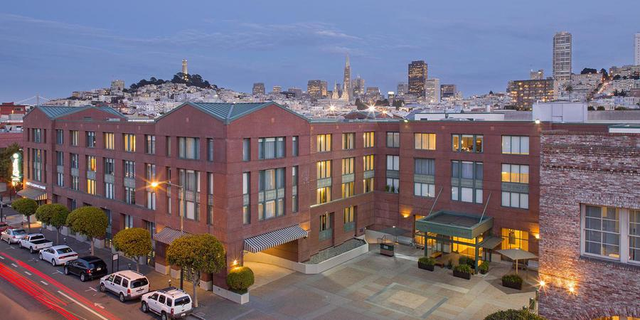 Hyatt Fisherman's Wharf wedding San Francisco