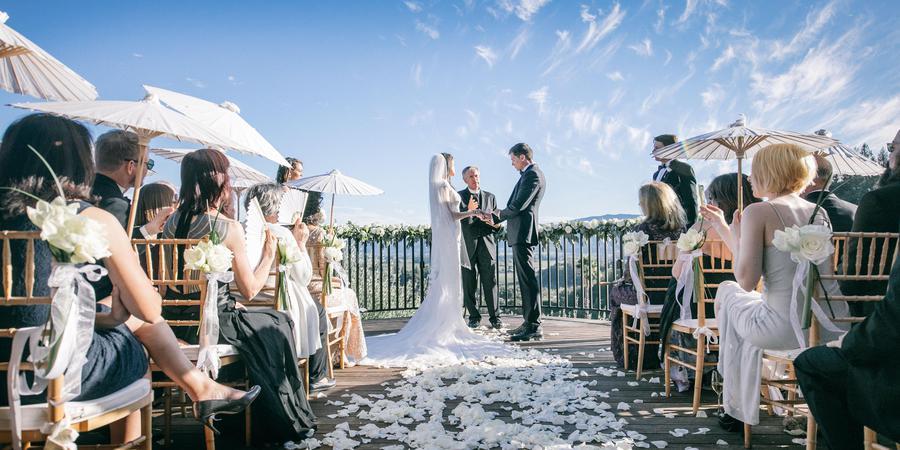 Auberge du Soleil wedding Napa/Sonoma