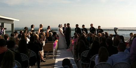 Harrison's Harbor Watch Restaurant wedding Eastern Shore/Chesapeake Bay