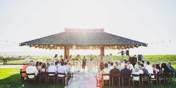 Eberle Winery wedding Central Coast