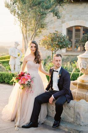 Cal-a-Vie Health Spa wedding San Diego